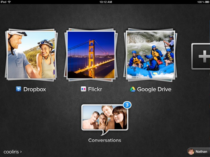 2.6 home 730x547 Photo sharing service Cooliris introduces iOS app support for Dropbox and improves image discovery
