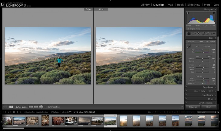 LR5Beta1 Advanced Healing Brush 730x433 Adobe launches Lightroom 5 in public beta, featuring improved healing tools and faster previews