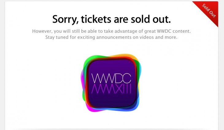 Screen Shot 2013 04 25 at 10.02.51 AM 730x425 Apples WWDC conference sells out in a record 2 minutes