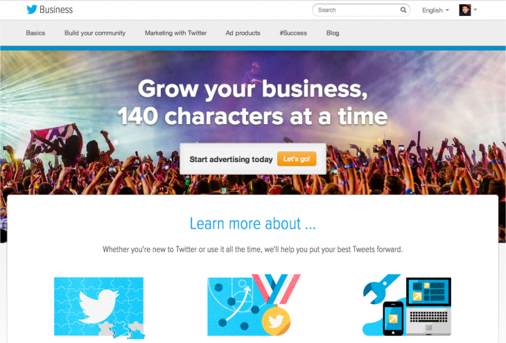 Snap 2013 04 01 at 09.46.14 730x495 Twitter refreshes its business education site in an effort to boost ad dollars
