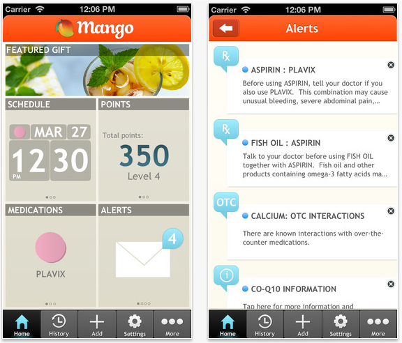 Snap 2013 04 02 at 08.23.09 Rock Health alum Mango Health signs deal with Target and launches iOS app to help manage medications
