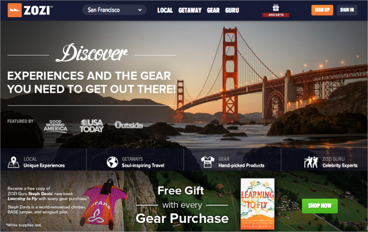 Snap 2013 04 03 at 21.06.22 730x460 Online lifestyle marketplace ZOZI gets $10M to help add more Gurus, local experiences and getaways