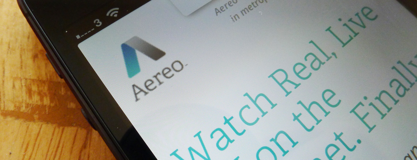 US TV streaming service Aereo apologizes for outage during the Golden Globes