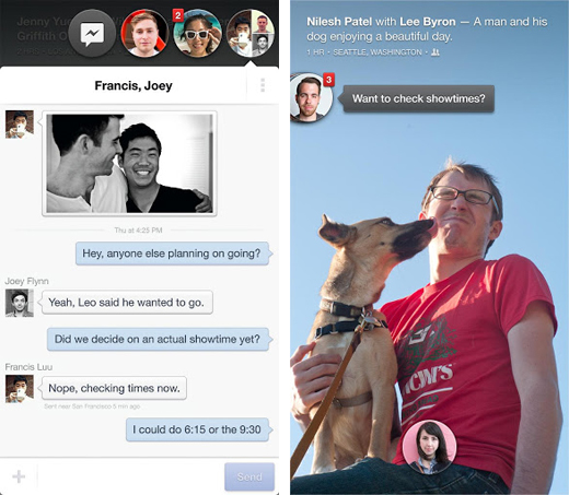 fb2 Facebook Home arrives on Google Play, but only for US users on select devices