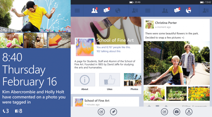 fb wp beta 730x405 Microsoft debuts Facebook beta program for Windows Phone: app gets high res photos, post sharing, and Timeline