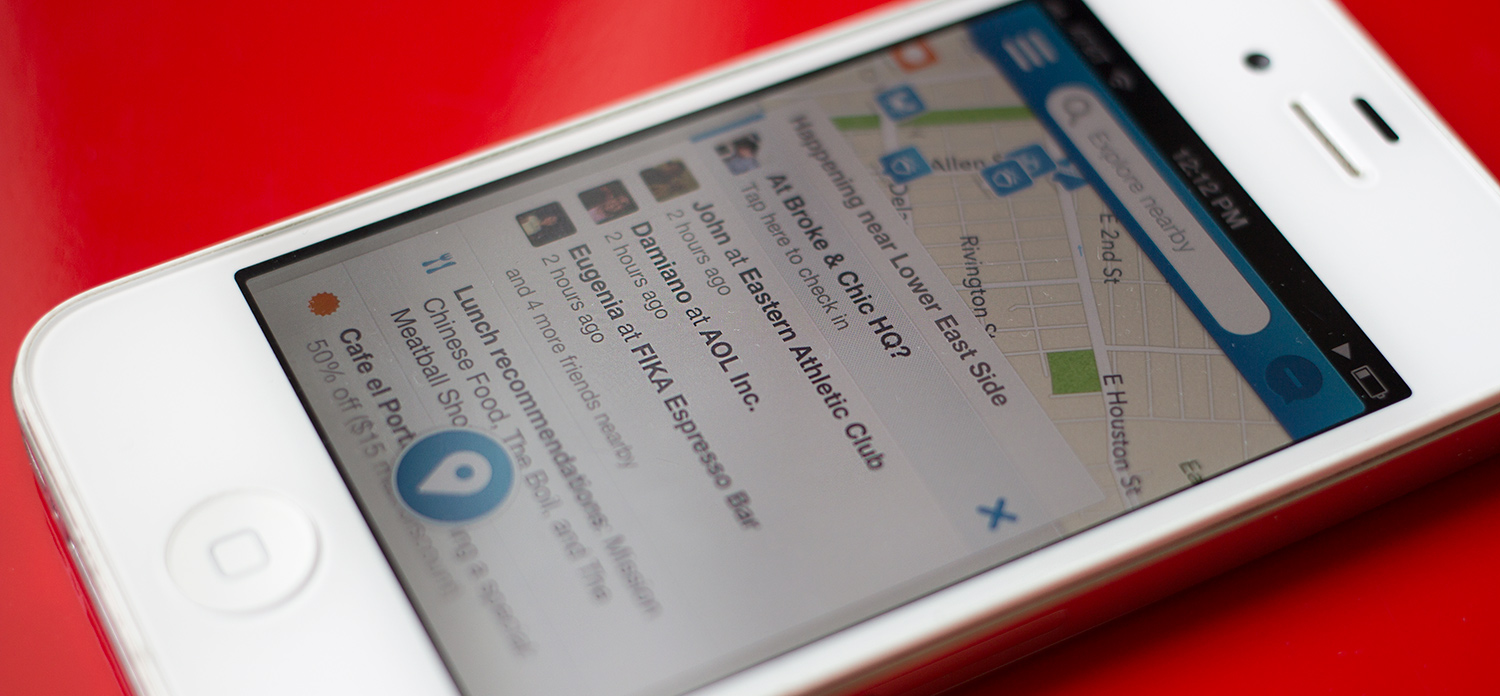 Foursqaure to Charge for Access to its Databse