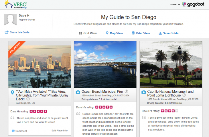 gogobot insiderguide 730x479 HomeAway partners with Gogobot to add local insider guides from home owners