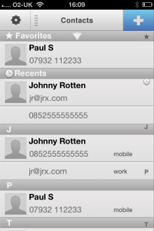 h4 220x330 ReachFast is a slick contacts app for iPhone