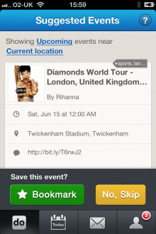 i 220x330 TNW Pick of the Day: Calendo for iOS taps and trumps Facebook for event recommendations