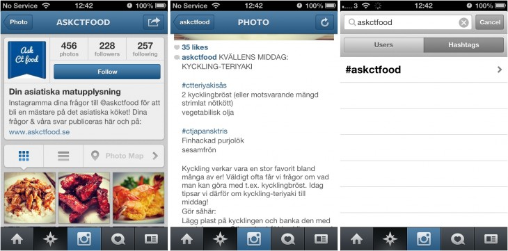 image horz 730x361 Swedish company channels Instagram to educate fans of Asian food about their favorite dishes