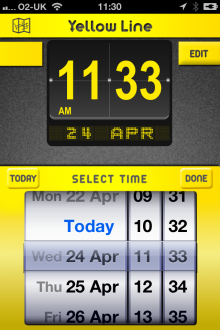 j1 220x330 Yellow Line for iOS gives London drivers local parking information and records where they left their car