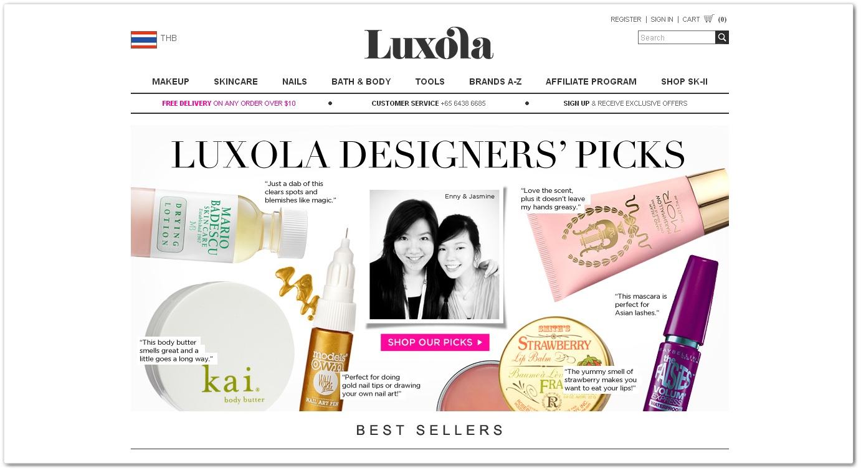 5+ Well Designed Online Cosmetics Stores - Designore.com