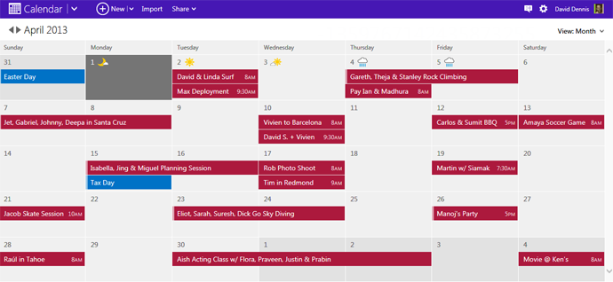 microsoft calendar Microsoft is rolling out an updated Outlook Calendar design with easier editing and sharing