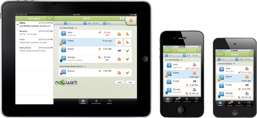 Opentable App For Restaurant Owners >> Restaurant Reservation iPad App NoWait Seats 10M Diners