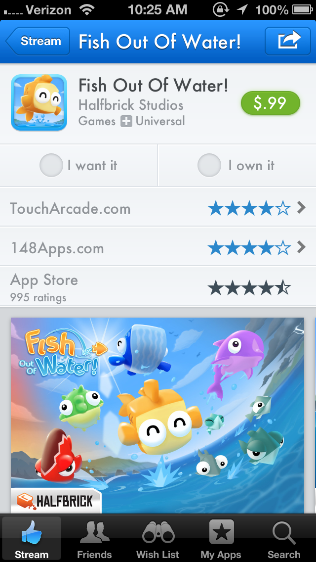 photo 3 Despite App Store rules crackdown, comparison tool AppShopper returns with a social bent