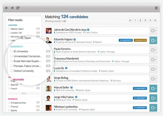 searchtools1.jpeg 520x370 Tyba wants to make it easier for employers to find the perfect junior staff
