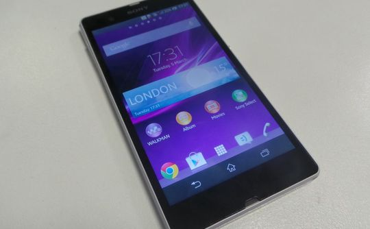 sony xperia z 5in screen 540x334 Sony Xperia Z review: Is five inches too much?