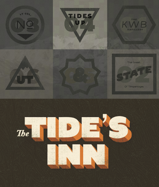 tides in 23 Of the most beautiful typeface designs released last month