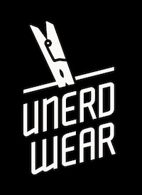 unerdwear logo bw 2 Unerdwear to launch ballsy new line of   wait for it   underwear for nerds