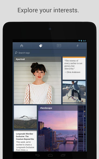 unnamed 2 Tumblr gives its Android app a total facelift to follow Holo design conventions