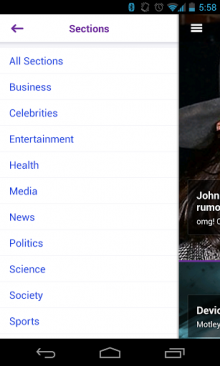 y8 220x366 Yahoo launches redesigned Android app with Summly integration, but its US only for now