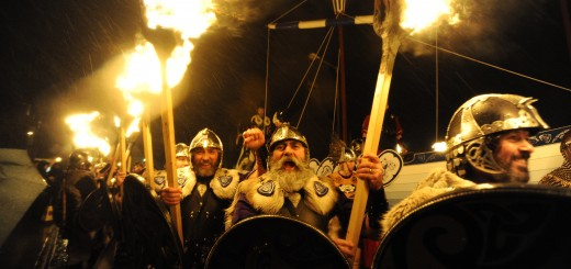 BRITAIN-TRADITION-VIKING