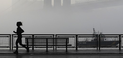 Morning Fog in New York City