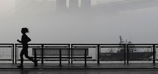 Morning Fog in New York City