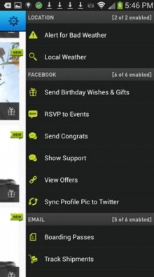 Android2 220x396 Handling 5M actions, EasilyDo brings its smart assistant app to Android with a widget and event list