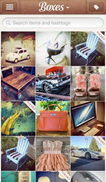 Discover 220x376 Boxes brings order to your belongings, with a beautiful photo based e commerce iPhone app [invites]