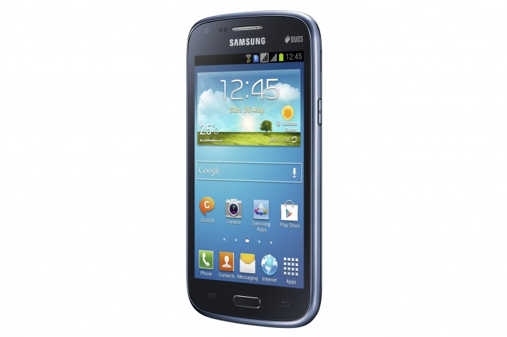 "GALAXY Core Product Image 4 730x486 Samsung unveils the Galaxy Core, a low end Android smartphone with 4.3"" display and dual SIM support"
