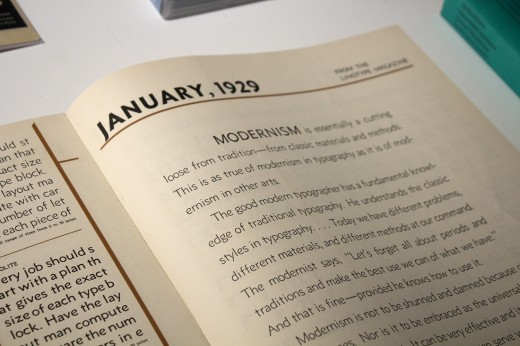 IMG 2135 520x346 Type design inspiration: Inside the evolution of typography at Monotype