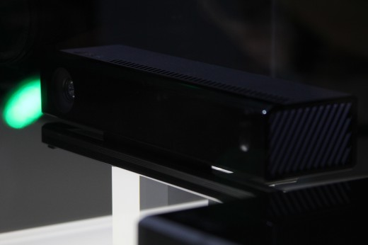 IMG 7964 520x346 Eyes on the Xbox One: An edgy beast with a new controller and Kinect sensor