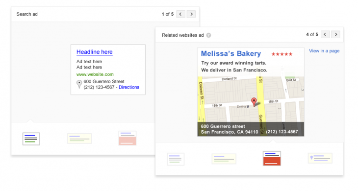 Page 2 730x390 Google redesigns AdWords Express with clearer stats and graphs, faster signup, and real time ad previews