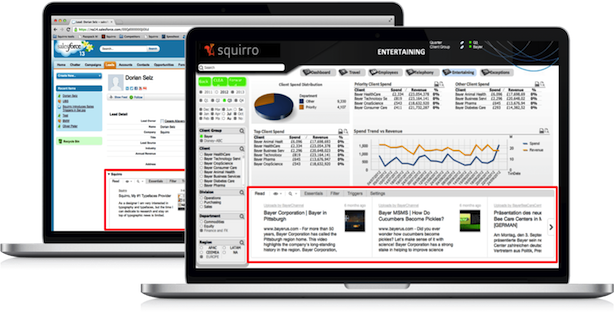 QV   SFDC Mac tiny Switzerlands Squirro raises seed funding to help add context to your data