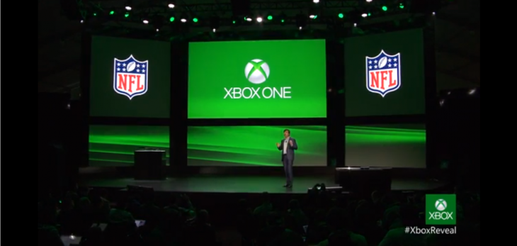 Screen Shot 2013 05 21 at 10.50.28 AM 730x347 Microsoft partners with the NFL to bring American football to the Xbox One