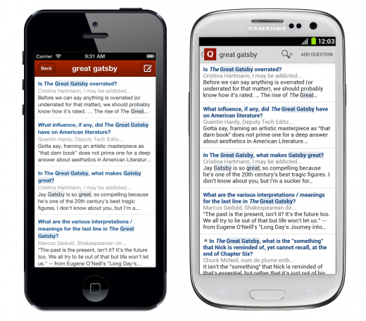 SearchLaunch Combined 520x456 Quora brings full text search to its iOS and Android apps to help you find answers on the go