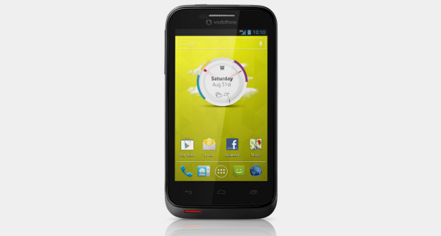 VodafoneSmartIII 6181 Vodafone Smart III launches in the UK with Android Jelly Bean and a 5MP camera for less than £99