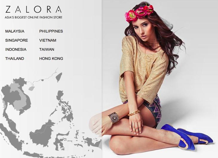 ZALORA ASIAS BIGGEST ONLINE FASHION STORE Rocket Internet backed online fashion store ZALORA goes full throttle, raises $100 million round