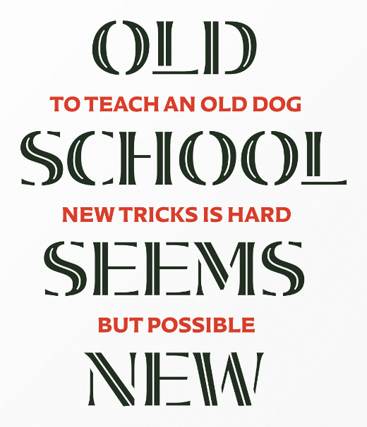audree 30 of the most beautiful typeface designs released last month (April)