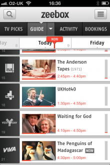 b5 220x330 Zeebox surfaces fresh TV shows with New and Live tags, and arrives for Android tablets