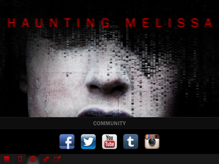 c11 730x547 Haunting Melissa is an iOS only horror yarn that hints at the future for TV and storytelling