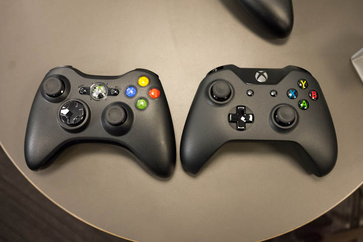 ces 9 Hands on: The Xbox One controllers refined d pad and 4 independent vibrators