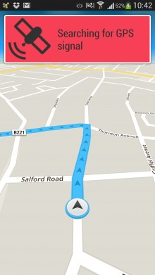 Skobbler brings its OpenStreetMap GPS navigation app to Android, with offline turn by turn directions