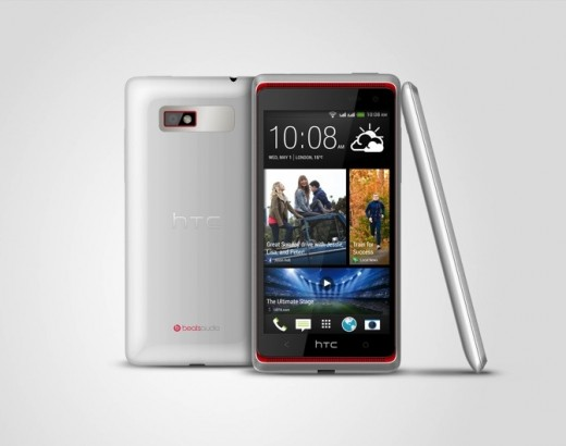 desre600desire 600 dual simwhite 3v hirgb rendermat 520x410 HTC Desire 600 debuts with a quad core processor, Sense 5 and dual BoomSound front facing speakers