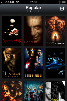e5 220x330 Limelight for iPhone lets you create and share lists of films youve watched and want to watch