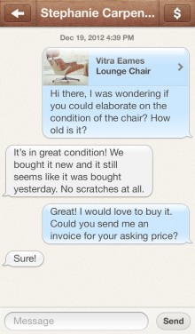 eMessages 220x376 Boxes brings order to your belongings, with a beautiful photo based e commerce iPhone app [invites]