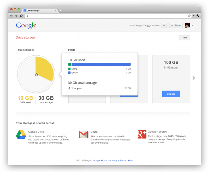 enterprise storage image 730x600 Google now offers 15GB of shared storage for Drive, Gmail, and Google+ Photos, Apps customers get 30GB