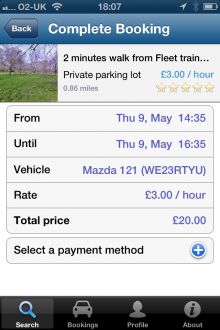 g2 220x330 ParkatmyHouse takes its parking marketplace to iOS, but its UK only for now