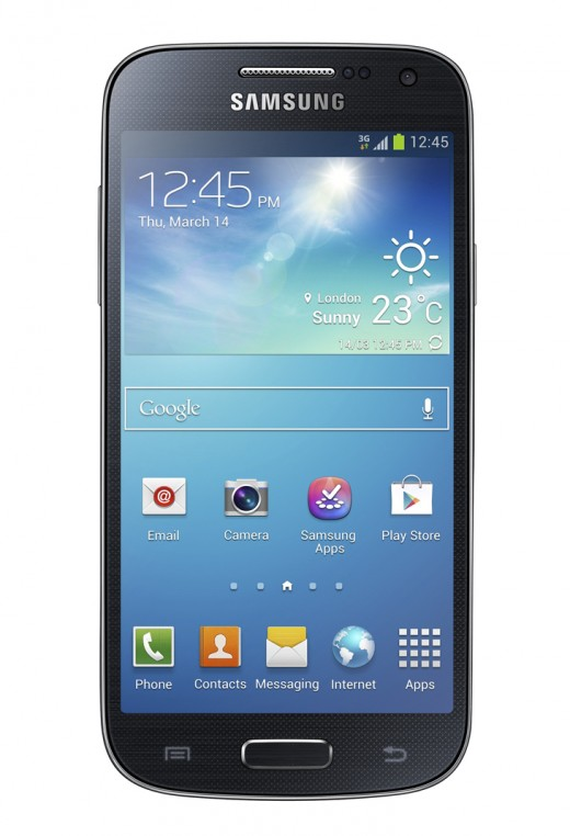 gs4mini 520x762 Samsung unveils the much anticipated Galaxy S4 Mini ahead of June 20 press event